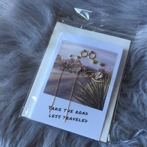 Cost plus world market jewelry wm nwt earrings greeting card gift cost plus world market jewelry wm nwt earrings greeting card gift set m4hsunfo